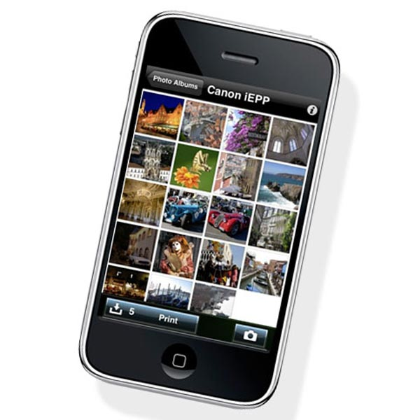 Canon Easy Photo-Print iPhone App