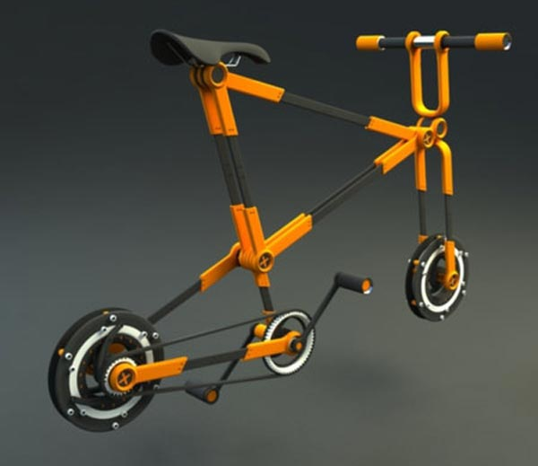 Folding Urban Bike Concept