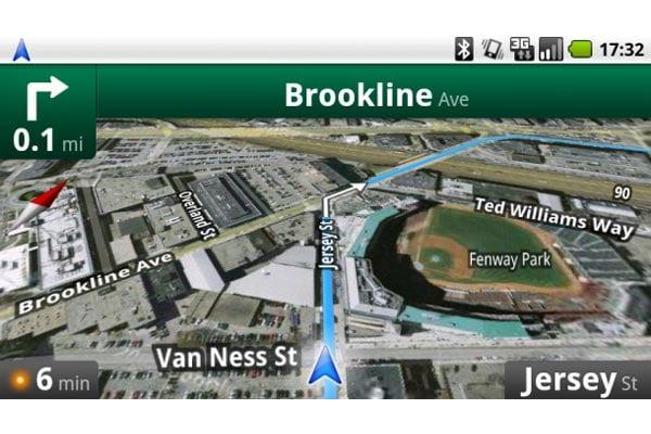 Google Maps Navigation ir senesniems Android