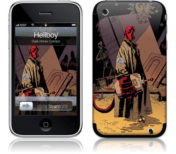 Hellboy iPhone Skins