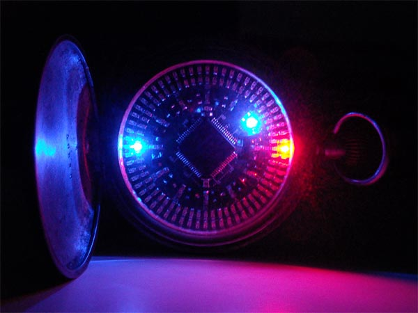 LED Pocket Watch
