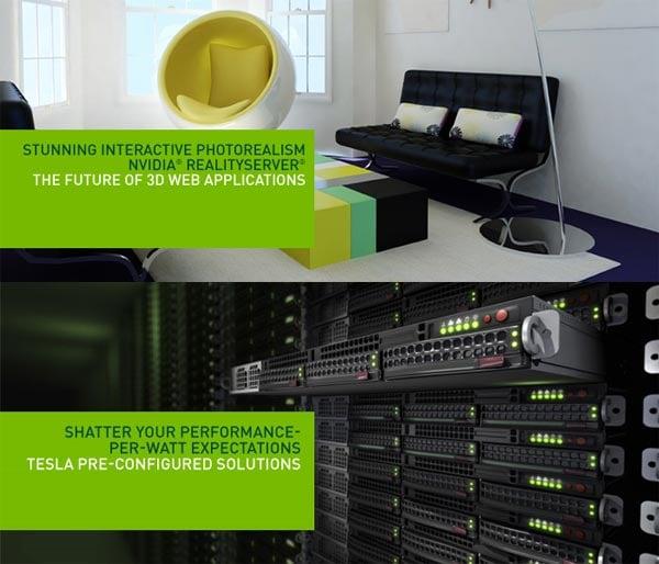 NVIDIA Announces RealityServer 3D Cloud Computing