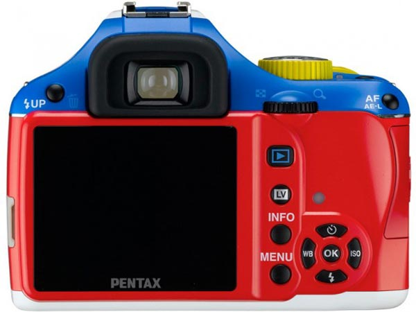 Pentax K-x 'Robotic Colors' Limited Edition