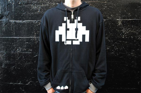Re-Invaded Space Invaders Hoody