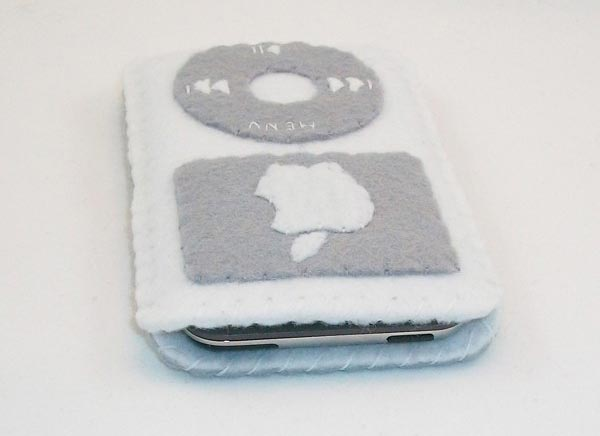 Retro iPod Felt iPhone Case