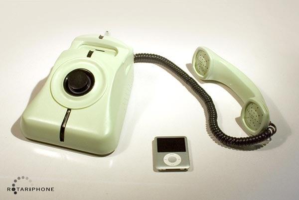 RotariPhone iPod Dock