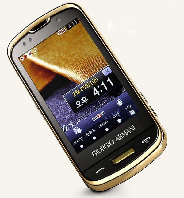 Samsung Gorgio Armani SPH-W8200 Smartphone