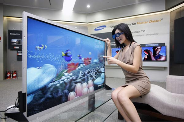Samsung LCD 55inch 3D Screen