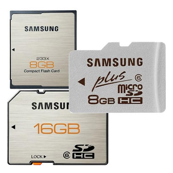 Samsung Premium Plus Memory Cards