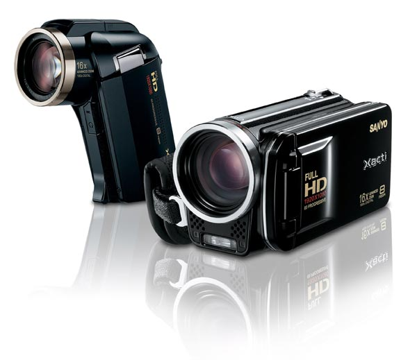 Sanyo VPC-HD2000A And VPC-FH1A Dual Cameras