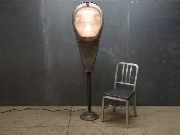 Super Guppy Industrial Floor Lamp