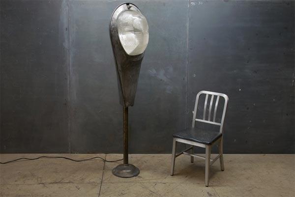 Super Guppy Industrial Floor Lamp