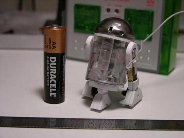 The World's Smallest R2-D2