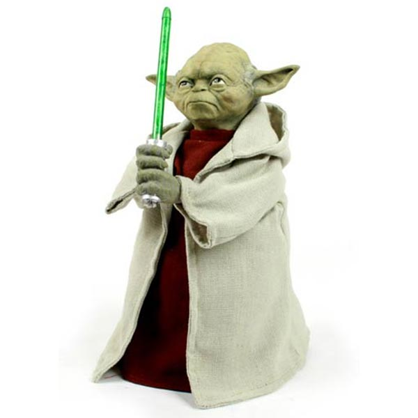 Yoda Light Up Chistmas Tree Topper