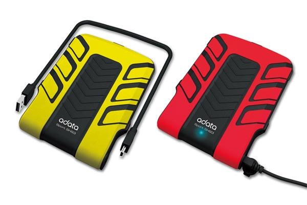 A-Data SH93 Shock Resistant, Waterproof Portable HDD