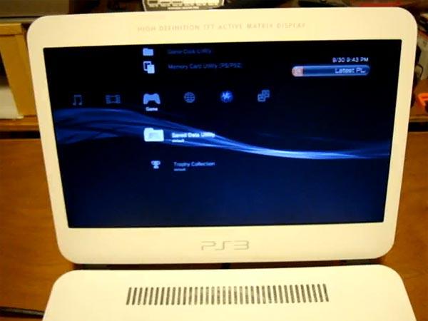 Ben Hecks PS3 Slim Laptop