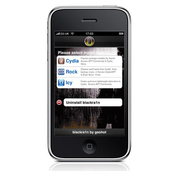 Blackra1n RC2 iPhone Jailbreak