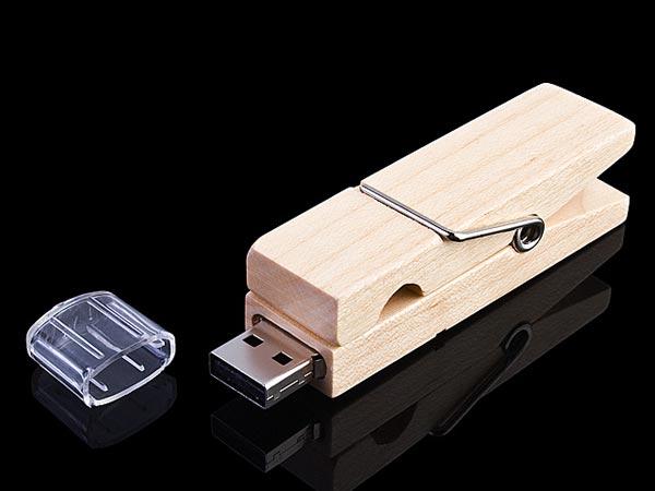 Clothes Pin USB Drive