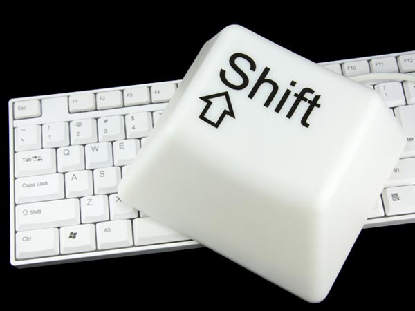 CTRL And Shift Key Desk Lamps