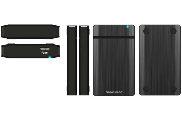 Dane-Elec USB 3.0 External Hard Drives and SSDs