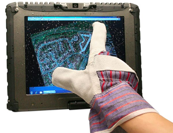 Getac V100 Tablet PC Gets Multitouch Display