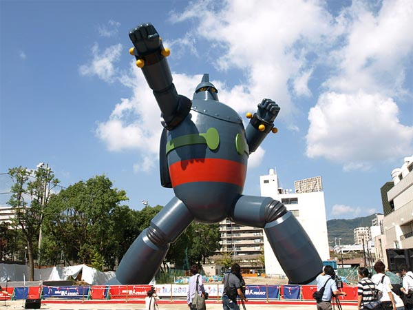 Gigantor Robot Statue Unveiled In Japan