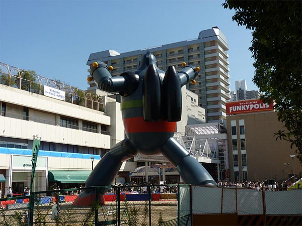 Gigantor Robot Statue Unveiled In Japan
