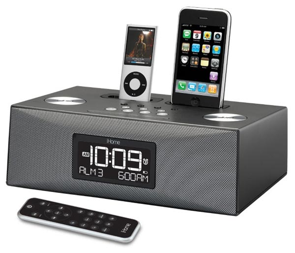 iHome IP88G Dual iPhone Dock