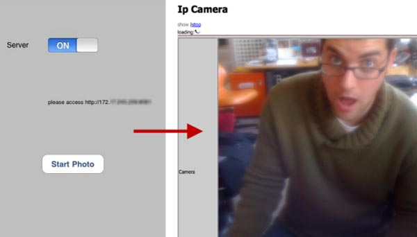 IP Camera iPhone App