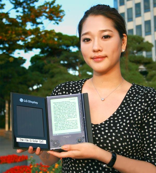 LG's Solar Cell e-Book