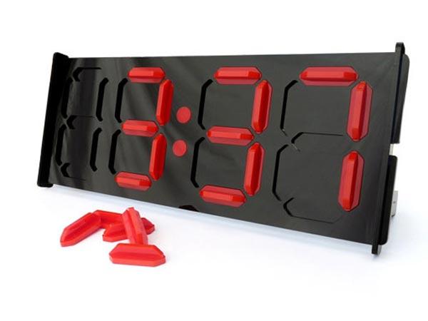 The Manual Digital Clock