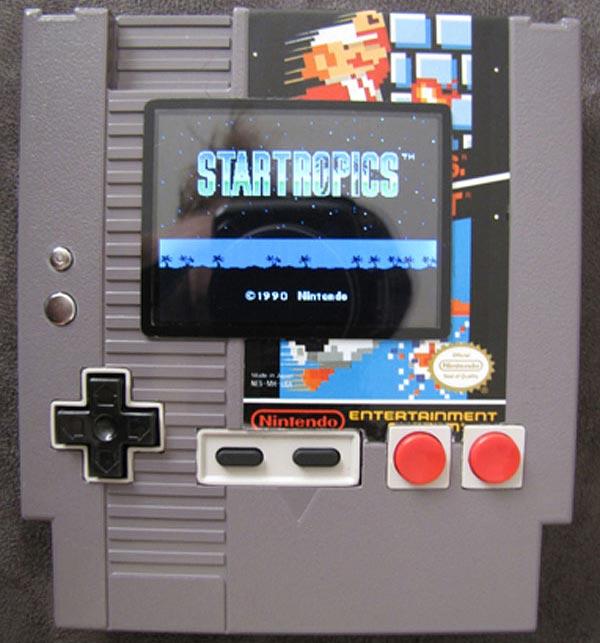 NES Catridge Console Mod