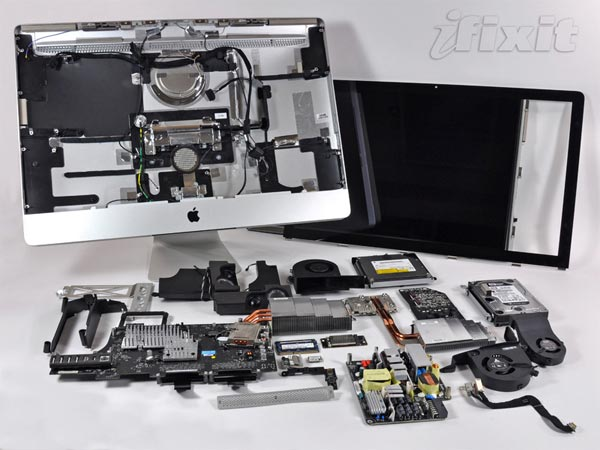 New Apple iMac Gets Taken Apart