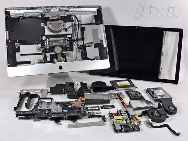 New Apple iMac Gets Taken Apart