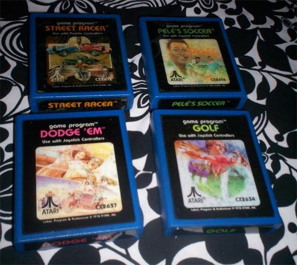 Retro Atari Game Cartridge Coasters