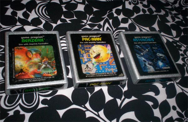 Retro Atari Game Cartridge Coasters