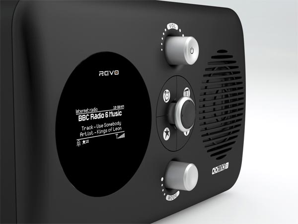 Revo Domino D3 DAB+ iPod Dock