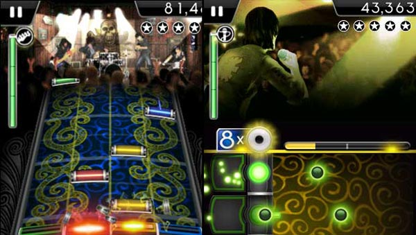 Rock Band iPhone App