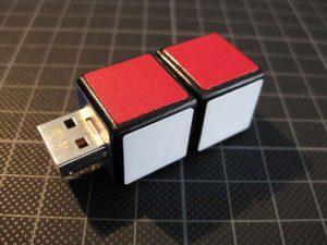 DIY Rubik Cube USB Flash Drive