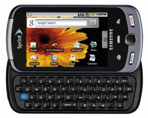 Samsung Moment Android Smartphone