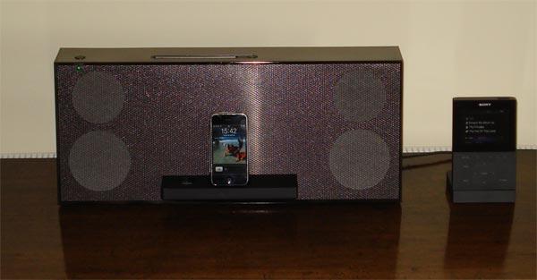 Sony NAS-Z200IR iPod Dock Review