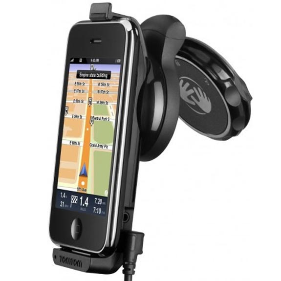 TomTom iPhone Car Kit Now Available In Europe