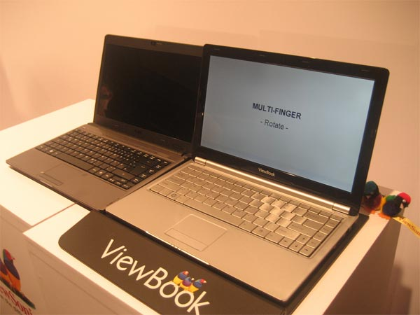 Viewsonic Viewbook Ultra Portable Notebooks