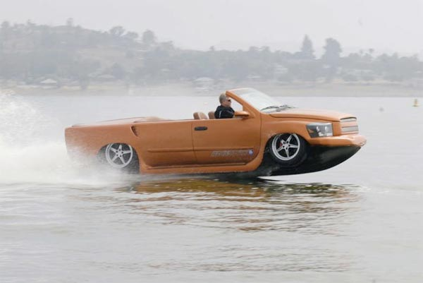 The Worlds Fastest Amphibious Vehicle