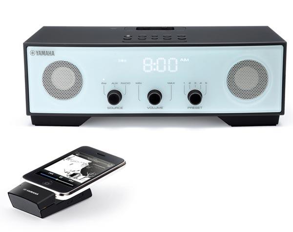Yamaha TSX-W80 Clock Radio iPod Dock