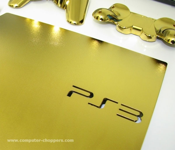 24kt Gold PS3 Slim