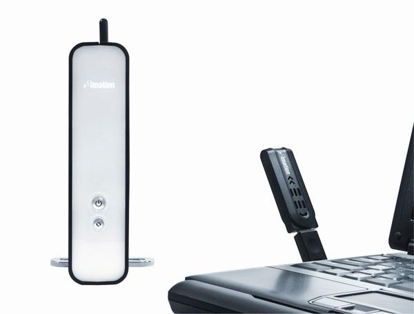 Imation Pro WX Wireless USB Hard Drive