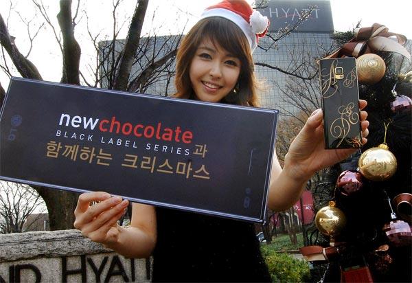 LG BL40 Chocolate Christmas Edition