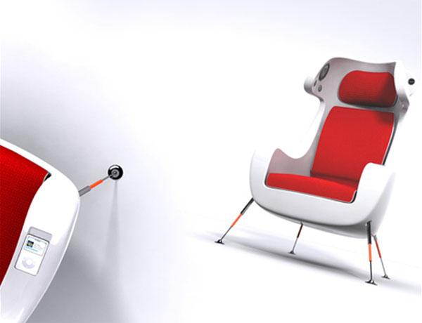 Martin Emila's Media Chair