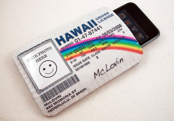 McLovin Fake ID iPhone Case